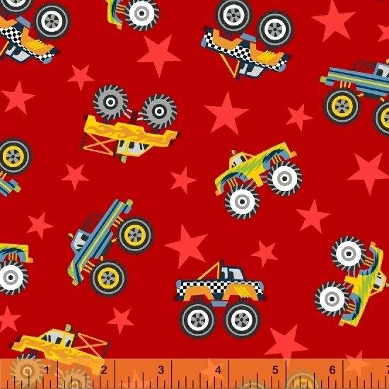 51267-4 Monster Trucks by Windham Fabrics