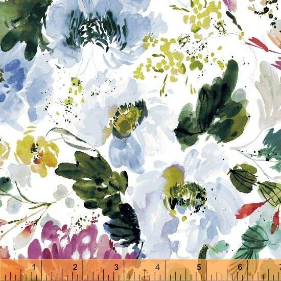 51279L-2  Lawn Fabric Field Day by Windham Fabrics