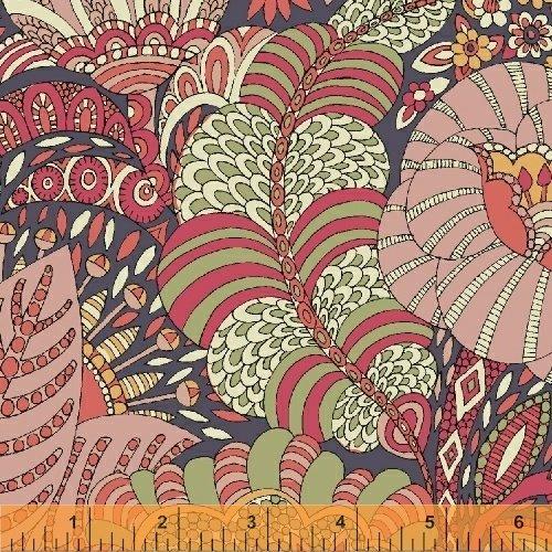 51296L-2 Fantasy Cotton Lawn by Windham Fabrics