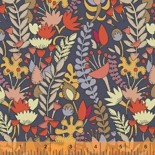 51297L-2 Fantasy Cotton Lawn by Windham Fabrics