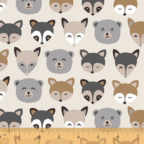 51369-5 Cubby Bear by Windham Fabrics