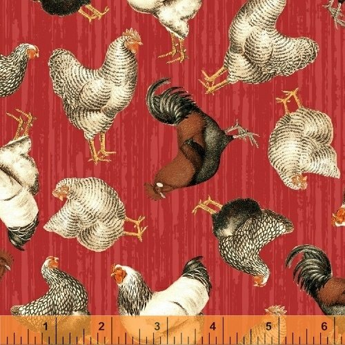 51398-4 Early Bird by Windham Fabrics