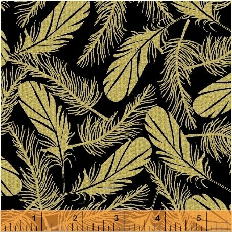 51405M-1 Precious Metal Nature by Windham Fabrics