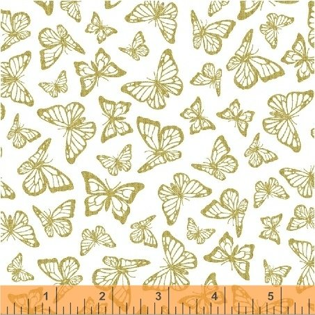51407M-2 Precious Metal Nature by Windham Fabrics