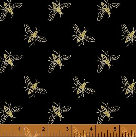 51408M-1 Precious Metal Nature by Windham Fabrics