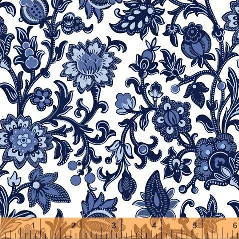 51426-1 Blue Byrd by Colonial Williamsburg for Windham Fabrics