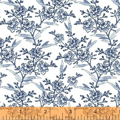 51428-1 Blue Byrd by Colonial Williamsburg for Windham Fabrics