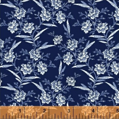 51428-2 Blue Byrd by Colonial Williamsburg for Windham Fabrics