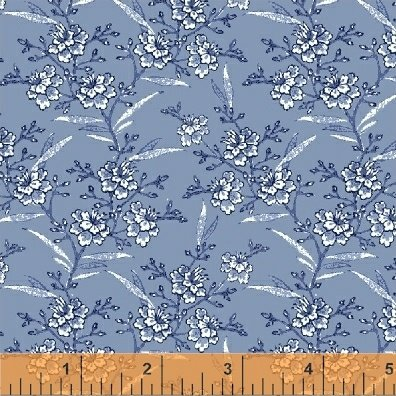 51428-3 Blue Byrd by Colonial Williamsburg for Windham Fabrics