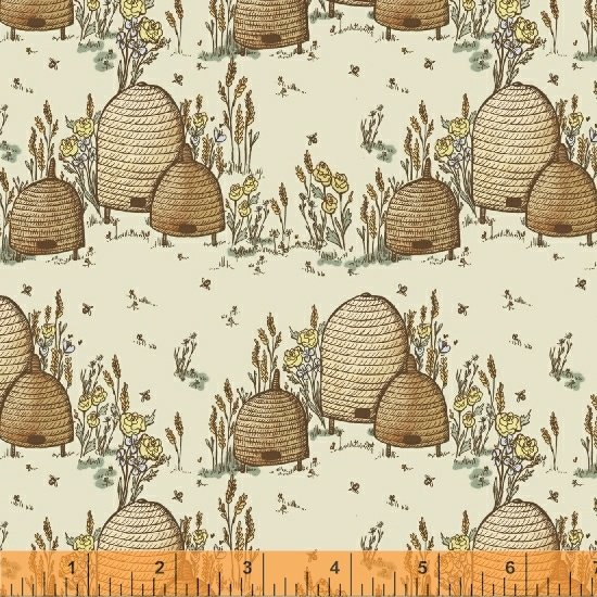51432-1 Tell the Bees by Hackney & Co for Windham Fabrics
