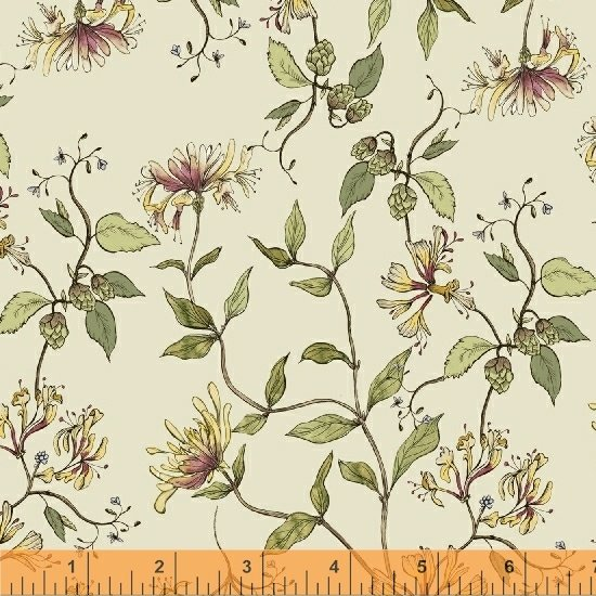 51433-1 Tell the Bees by Hackney & Co for Windham Fabrics