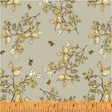 51434-2 Tell the Bees by Hackney & Co for Windham Fabrics
