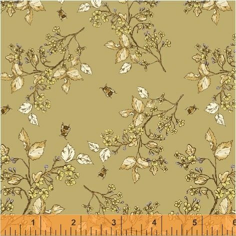 51434-5 Tell the Bees by Hackney & Co for Windham Fabrics