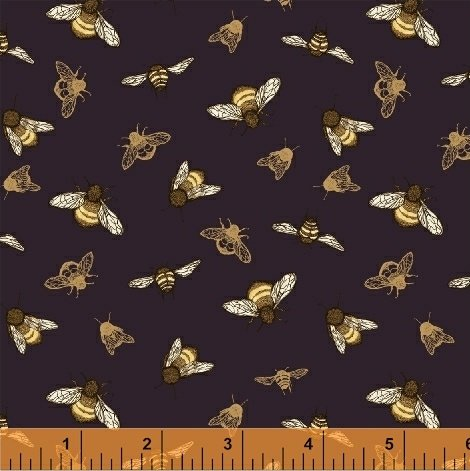 51435-4 Tell the Bees by Hackney & Co for Windham Fabrics
