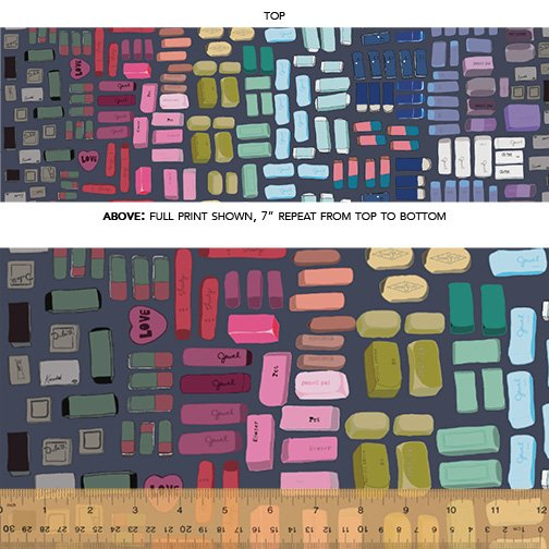 51480D-2  Pencil Club by Heather Givans of Crimson Tate for Windham Fabrics