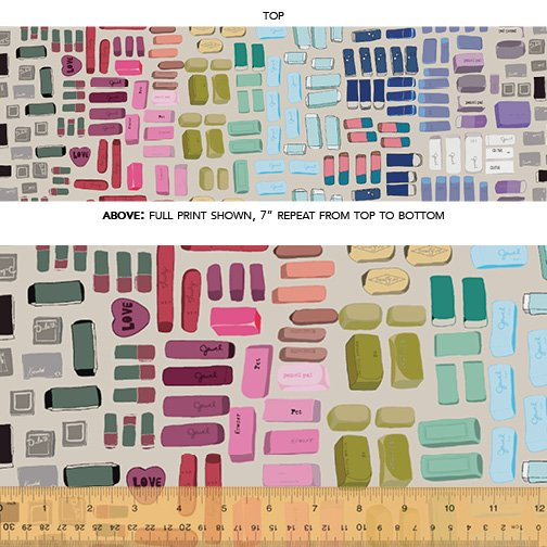51480D-4 Pencil Club by Heather Givans of Crimson Tate for Windham Fabrics