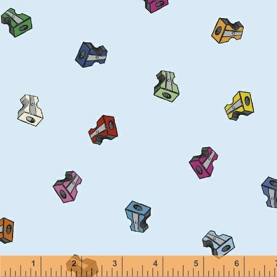 51484-19 Pencil Club by Heather Givans of Crimson Tate for Windham Fabrics
