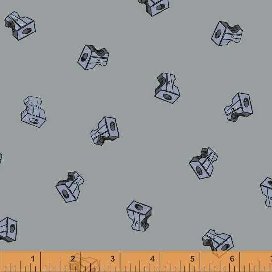 51484-20 Pencil Club by Heather Givans of Crimson Tate for Windham Fabrics