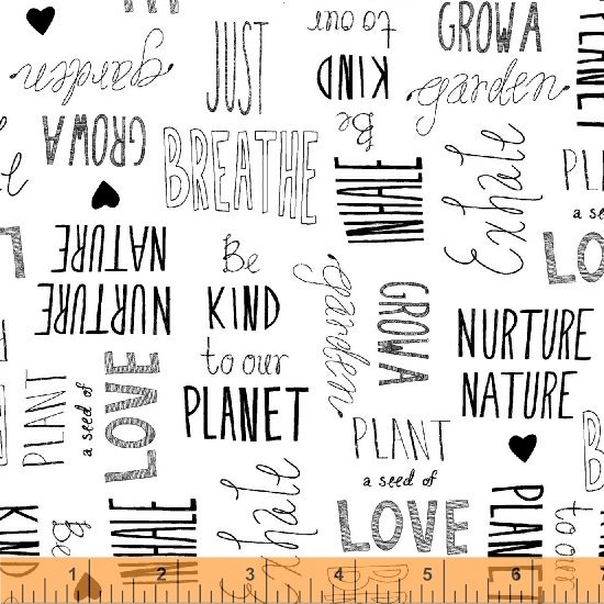 15498-1 Love the Earth by Windham Fabrics