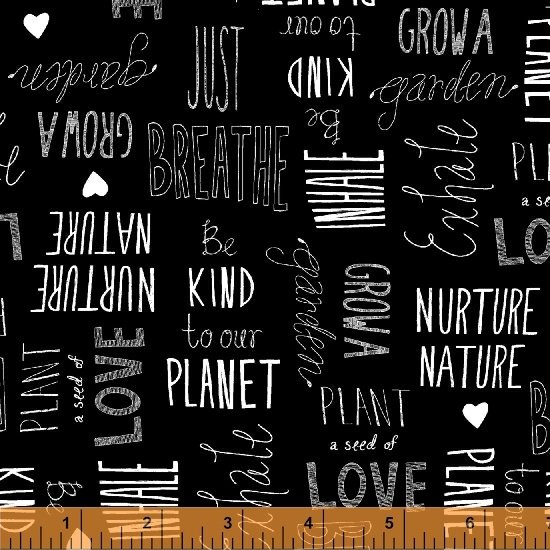 15498-2 Love the Earth by Windham Fabrics