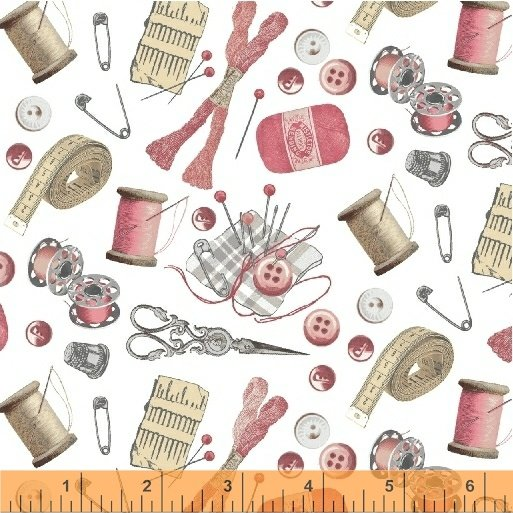 51511-3 A Stitch in Time by Windham Fabrics