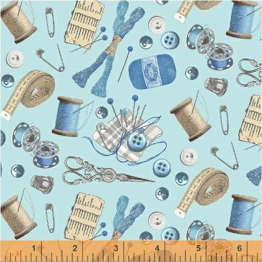 51511-4 A Stitch in Time by Windham Fabrics