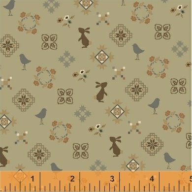 51556-4 French Armoire by Windham Fabrics