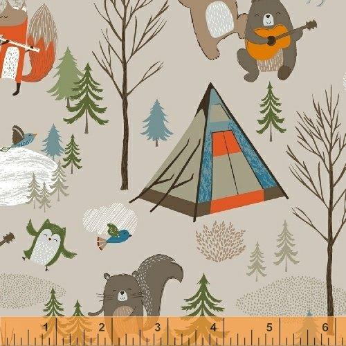 51559-1 Bear Camp by Windham Fabrics