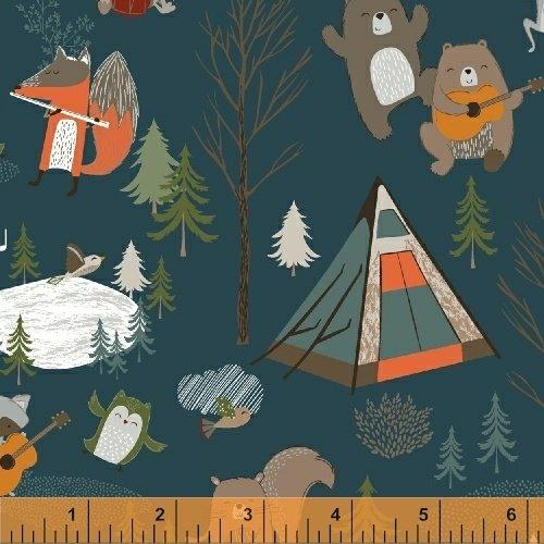 51559-2 Bear Camp by Windham Fabrics