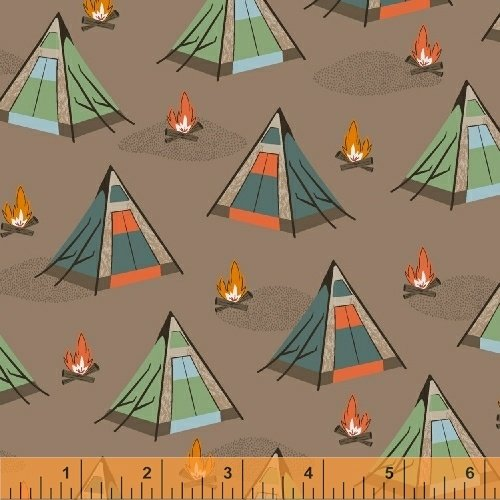 51560-3 Bear Camp by Windham Fabrics