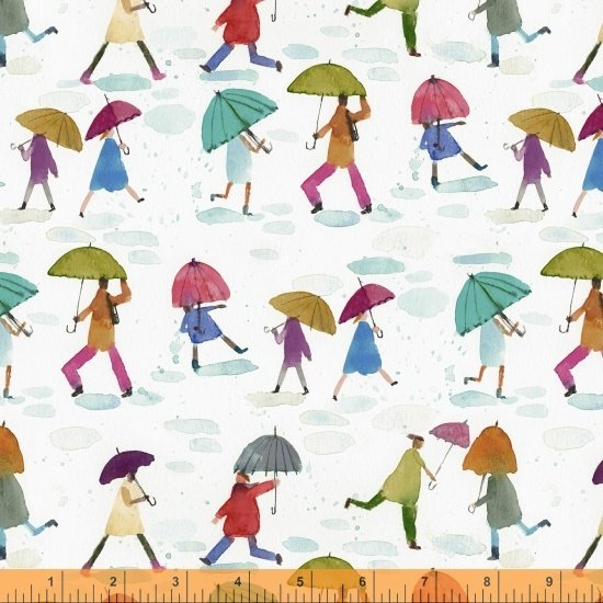 51646-X Rain or Shine by Maria Carluccio for Windham Fabrics