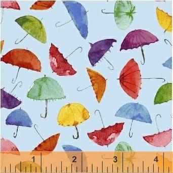 51651-2 Rain or Shine by Maria Carluccio for Windham Fabrics