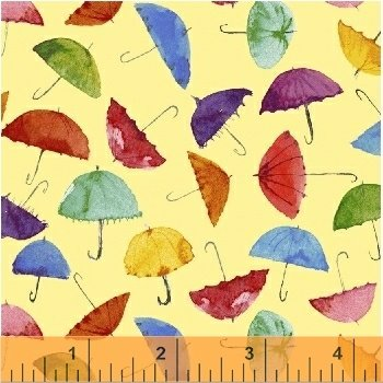 51651-3 Rain or Shine by Maria Carluccio for Windham Fabrics