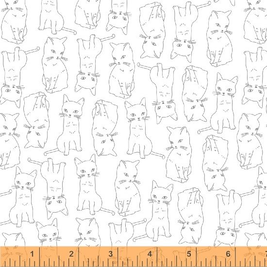 51687-1 Kitty Kitty by Whistler Studios for Windham Fabrics
