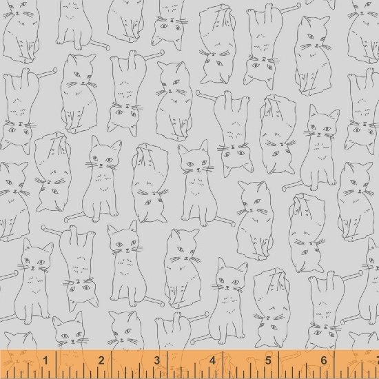 51687-3 Kitty Kitty by Whistler Studios for Windham Fabrics