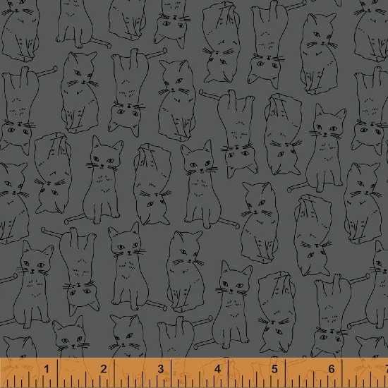 51687-4 Kitty Kitty by Whistler Studios for Windham Fabrics