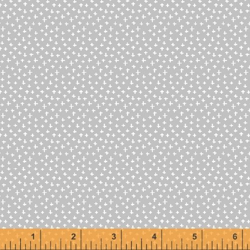 51689-3 Simply White by Another Point of View for Windham Fabrics