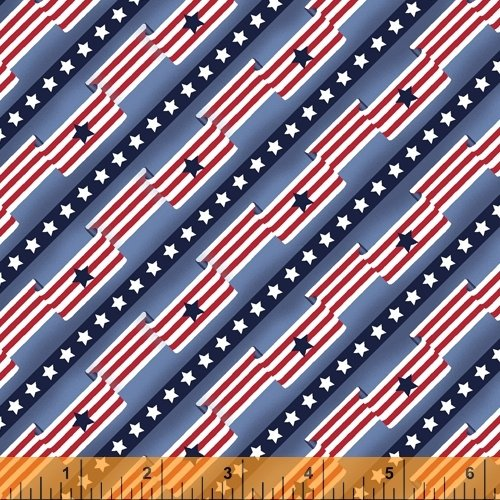 51765-3 Pride & Honor by Whistler Studios for Windham Fabrics