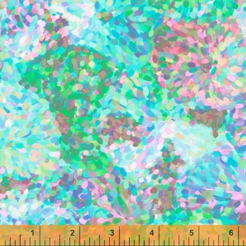 51796D-2 Impressionist Floral by Whistler Studios for Windham Fabrics