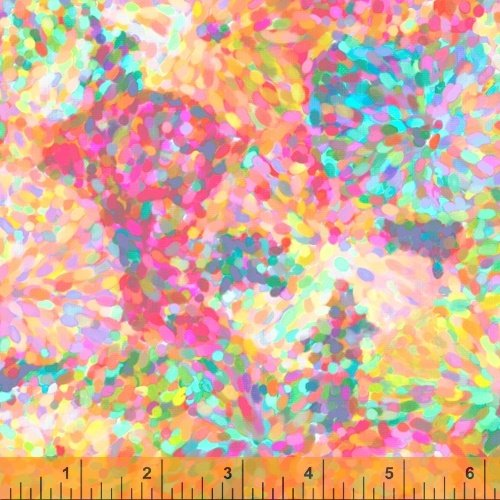 51796D-4 Impressionist Floral by Whistler Studios for Windham Fabrics