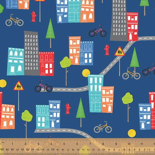 51837-2 Around Town by Whistler Studios for Windham Fabrics