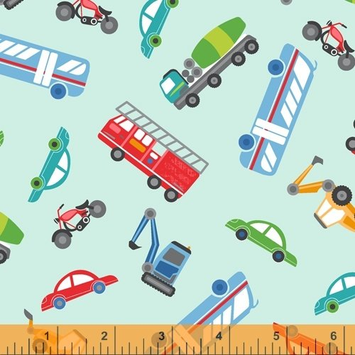 51838-5 Around Town by Whistler Studios for Windham Fabrics