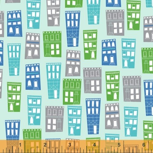 51840-5 Around Town by Whistler Studios for Windham Fabrics
