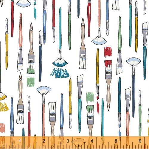 51857-3 The Artist by Whistler Studios for Windham Fabrics