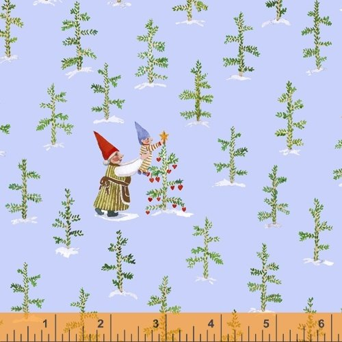 51876-1 Winter Gnomes by Striped Pear Studio for Windham Fabrics