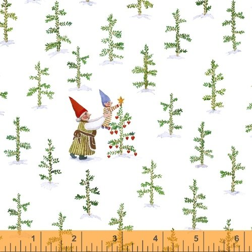 51876-2 Winter Gnomes by Striped Pear Studio for Windham Fabrics