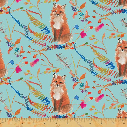 51919-3 Fox Wood by Betsy Olmsted for Windham Fabrics