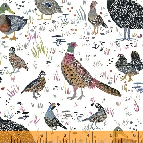 51920-1 Fox Wood by Betsy Olmsted for Windham Fabrics