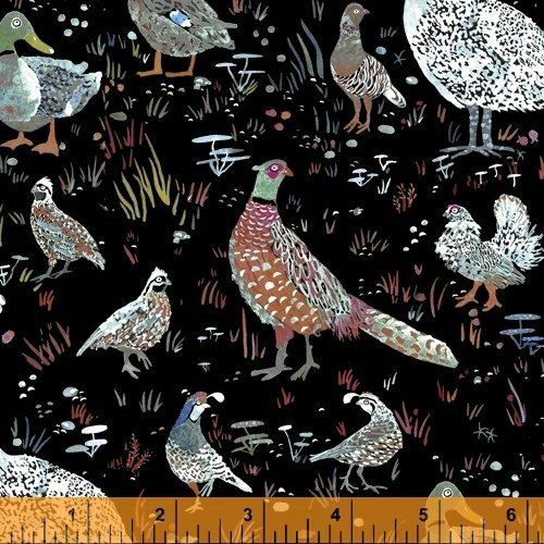 51920-5 Fox Wood by Betsy Olmsted for Windham Fabrics