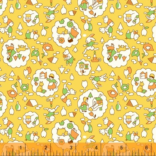 51978-4 Storybook by Whistler Studios for Windham Fabrics